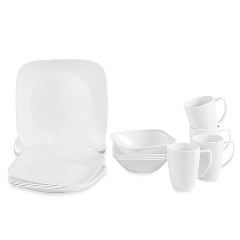 Bed Bath Beyond Square Dinnerware