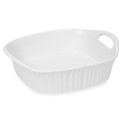 Corningware 174 French White 174 Iii 8 Inch Square Baking Dish