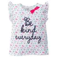 "Gerber® Size 3-6M ""Be Kind Everyday"" Short Sleeve Top"