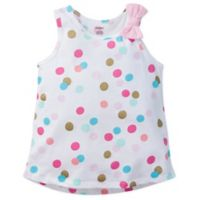 Gerber® Size 0-3M Polka Dot Sleeveless Top