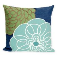Liora Manne Disco 20-Inch x 20-Inch Outdoor Throw Pillow in Blue