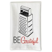 "Love You A Latte Shop ""Be Grateful"" Kitchen Towel"