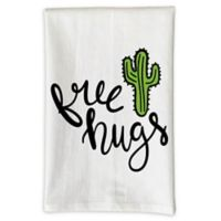 "Love You A Latte Shop ""Free Hugs"" Kitchen Towel"