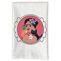 Love You A Latte Shop Frida Kitchen Towel