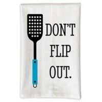 "Love You A Latte Shop ""Don't Flip Out"" Kitchen Towel"
