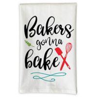"Love You a Latte Shop ""Bakers Gonna Bake"" Kitchen Towel"