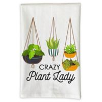 "Love You a Latte Shop ""Crazy Plant Lady"" Kitchen Towel"