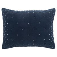 Rizzy Home Giavonna King Pillow Sham in Navy