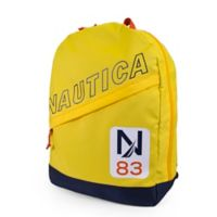 Nautica® N83 Diagonal Zip Full Size Backpack in Yellow