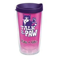 Tervis® Kitty Talk To The Paw 16 oz. Wrap Tumbler with Lid