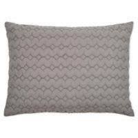 Rizzy Home Urban Mesh King Pillow Sham in Grey