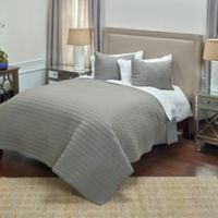 Rizzy Home Urban Queen Quilt in Grey