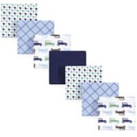 Hudson Baby® 7-Pack Flannel Receiving Blankets in Blue