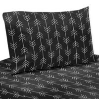 Sweet Jojo Designs® Rustic Patch Collection Sheet Set in Black/white