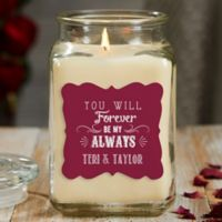 Love Quotes 18 oz. Vanilla Candle Jar