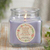 My Grandma, My Friend Personalized Lilac Minuet Candle Jar- Small
