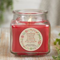 My Grandma, My Friend Personalized Cinnamon Spice Candle Jar- Small