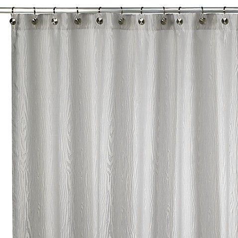 Beautiful Kenneth Cole Reaction® Home Wood Grain Shower Curtain