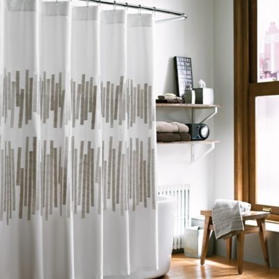 kenneth cole reaction home frost 54inch x 78inch stall shower curtain