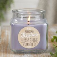 My Bridesmaid Personalized Lilac Minuet Candle Jar- Small