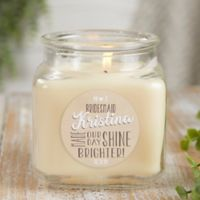 My Bridesmaid Personalized Vanilla Bean Candle Jar- Small