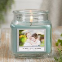 Picture Perfect Personalized Eucalyptus Spa Candle Jar- Small