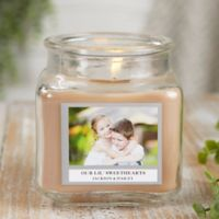 Picture Perfect Personalized Walnut Coffee Cake Candle Jar- Small