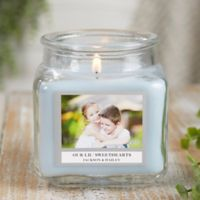 Picture Perfect Personalized Crystal Waters Candle Jar- Small