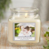 Picture Perfect Personalized Vanilla Bean Candle Jar- Small