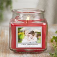Picture Perfect Personalized Cinnamon Spice Candle Jar- Small