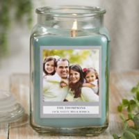 Picture Perfect Personalized Eucalyptus Spa Candle Jar- Large