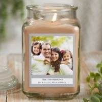 Picture Perfect Personalized Walnut Coffee Cake Candle Jar- Large