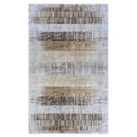 Couristan® Easton Distress Plank 3'11 x 5'3 Area Rug in Bark/Natural