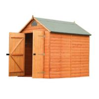 Rowlinson Storage Shed in Brown