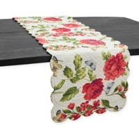 C & F Home Nina 51-Inch Floral Table Runner in Pink