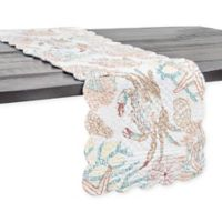 C & F Home Key Biscayne 51-Inch Table Runner in Aegean