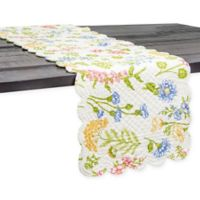 C & F Home Jeanette 51-Inch Table Runner in Pink