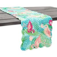 C & F Home Isla Tropics 51-Inch Table Runner in Green