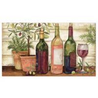 """Wine Print 20"""" x 36"""" Comfort Floor Mat"""