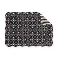 C&F Home Reina Placemats in Black (Set of 6)