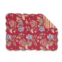 C&F Home Lizbeth Placemats in Red (Set of 6)
