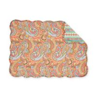C&F Home Miley Placemats in Orange (Set of 6)