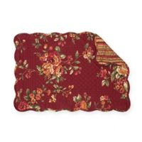 C&F Home Lilith Placemats in Burgandy (Set of 6)