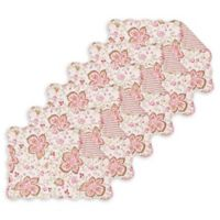 C&F Home Lexie Placemats in Pink (Set of 6)