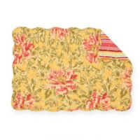 C&F Home Faye Placemats in Yellow (Set of 6)
