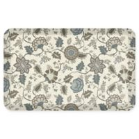 "GelPro® Adelle 20"" x 32"" Anti-Fatigue Kitchen Mat in Blue"