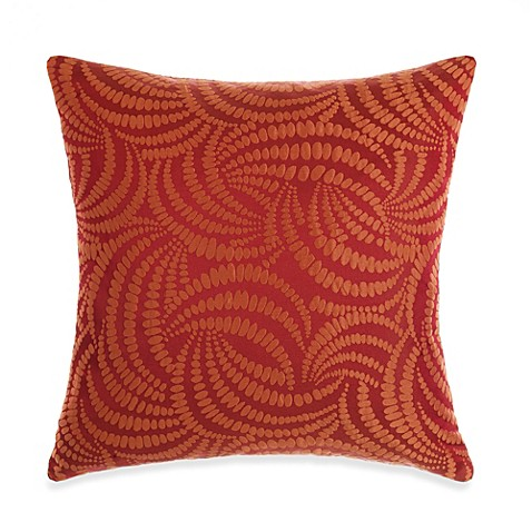 Orange Throw Pillows For Bed : Windswept Orange Throw Pillow - Bed Bath & Beyond
