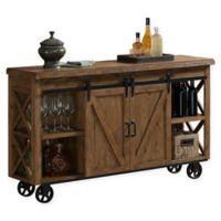 American Heritage Billiards Gateway Bar Cart in Harvest