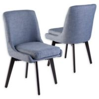 Southern Enterprises Shayla Swivel Dining Chairs (Set of 2)
