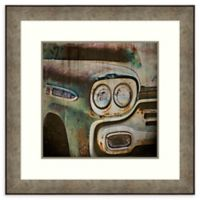 Amanti Art® Honey Malek Vintage Transportation 32.88-Inch Square Acrylic Framed Print in Silver